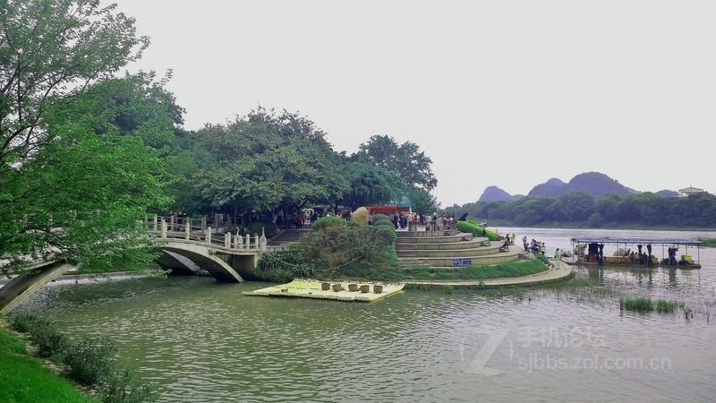桂林 象鼻山/器材:诺基亚